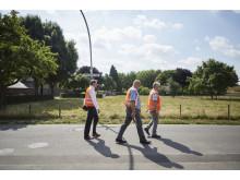 Glasfaserleitung im Straßenbereich