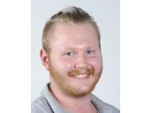 Oskar Jansson, ordförande i NTA & Borås YH studentkår 2018