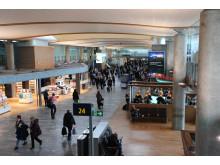 Passasjerer ved Oslo Lufthavn