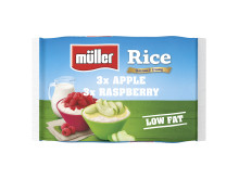 Müller Rice 6 Pack Apple & Raspberry