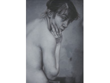 Tomas Lundgren, As Another 2018, olja på duk (30 x 40 cm)