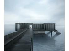White gestaltar Jönköpings nya kallbadhus