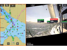 High res image - Raymarine - Augmented Reality Sailboat