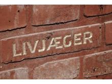 """""""Livjæger""""-inskription på Frihedsmuseet"""