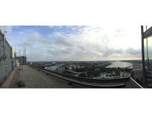 Från toppen av DN-skrapan
