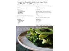 Broccoli på flera sätt