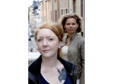Beatrice Unander-Scharin, vice ordförande, och Karin Svensson, ordförande i Roks