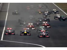 Starten i Kinas GP 2011