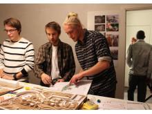 Workshop om Merkuriusgatan med unga vuxna i Bergsjön