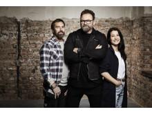 Arga snickaren med Adam Alsing får premiär i Kanal 5 den 15 februari 20:00. Foto: Magnus Ragnvid/Kanal 5