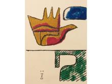 La main Ouverte, 1963, Le Corbusier,  ©FLC/BONO, Oslo kommunes kunstsamling.