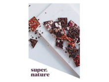 Oppskriftskort: Råsjokolade