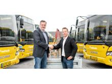 Levering af nye Scania-busser til Tide Bus