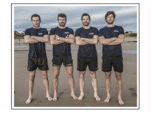 High res image - The Four Oarsmen - Team Photo