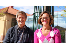 Sören Augustinsson och Pia Petersson