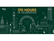Carlsberg firar 170 år under 170 timmar