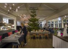 Julförberedelser i krogen på Smådalarö Gård