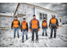 Milwaukee oppvarmet arbeidstøy