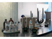 Ulike produkter vises frem fra Anderssen & Voll, Sigve Knutsson og NOIDOI
