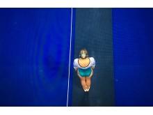 Lina Sjöberg tävlar i VM-finalen i DMT på söndag