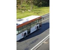 Buss i trafikk