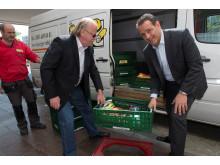 Spendenübergabe an Leipziger Tafel