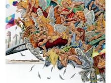 "Martin Bigum: ""Jigsaw Falling Into Place"", 2008. Hammerslag: 160.000 kr."