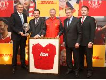 DHL indgår ny integreret marketing og logistik partnerskab med Manchester United