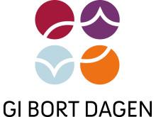 Gi bort dagen - Logo høyde