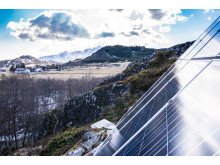Solceller i Lofoten
