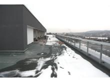 Dach des ElsterCube