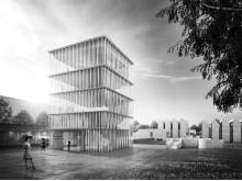 Udvidelse af Bauhaus Archiv i Berlin.