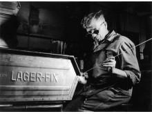 Lager-Fix laatikot ovat suunniteltu vuonna 1953 ja löytyvät eri materiaaleista ja väreissä