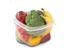 Lidls nye Green Bags introduceres som et alternativ til frugt- og grøntposer af tynd engangsplastik. Nettene kan lukkes i toppen, rengøres i hånden og genbruges mange gange. To Green Bags vil koste 5 DKK, hvoraf 20 øre går direkte til Plastic Change