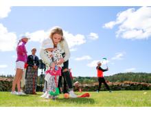 Zara Larsson på Golfkalaset