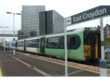 Southern service at East Croydon