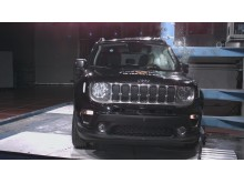 Jeep Renegade pole crash test Dec 2019