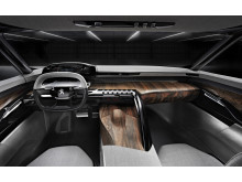 Peugeot Exalt konceptbil instrumentpanel