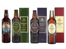 Fyra lagringsvänliga och exklusiva öl från Fuller's
