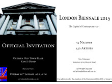 London Biennale - The inauguration - 20th of January