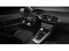 Nya Peugeot 308 med sin nydanande interiör