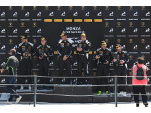 Double podium Simon Larsson 2018 Monza Super Trofep