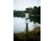 Provtagning i Gårdsjön