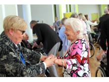 Erindringsdans er en af de populære aktiviteter på Langagergård Plejecenter