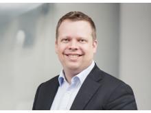 Markedsdirektør Asbjørn K. Hansen i Verisure