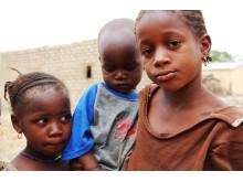 Barn i Mali