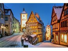 Rothenburg o.d.T. om vinteren, Tyskland