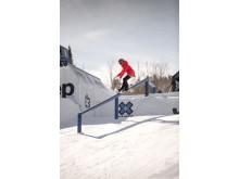 Norendal skal nå trene rails inn mot resten av sesongen. Foto: Snowboardforbundet