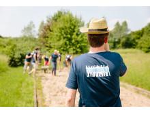 Im Team viel bewegen - Verschönerung des Generationenparks Volkhoven Weiler