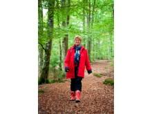 Katarina Johansson, samordnare i Nätverket mot cancer, bild ur boken TID för liv